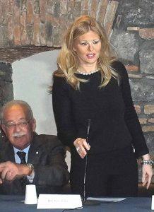 Dott.ssa Valentina Scialfa, assessore alle politiche scolastiche comune di Catania