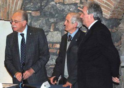 Direttivo, seconda foto: Fischer, Pavone e Bernardo Zanghì